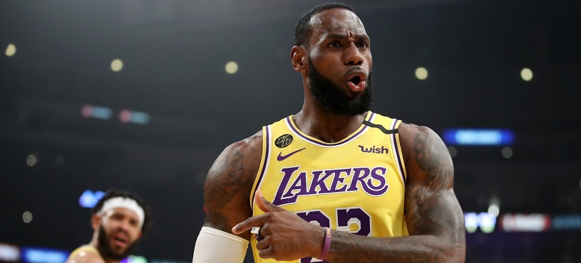 Lebron James, jugador NBA